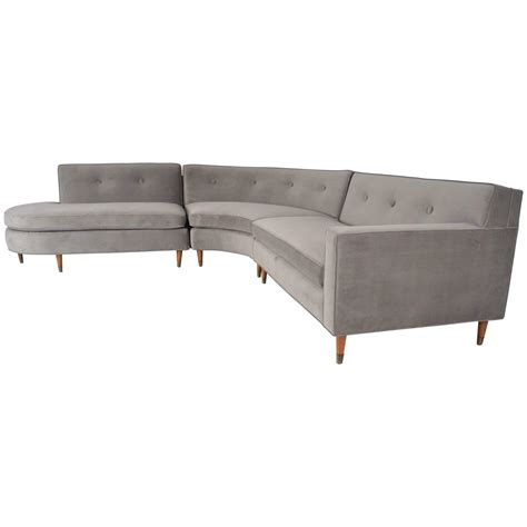 sectional sofa usa boomerang form sectional sofa usa circa 1950s at 1stdibs