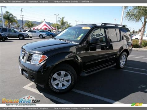 nissan pathfinder black 2007 nissan pathfinder le black graphite photo 5