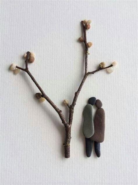 cuadros creativos creativos cuadros hechos de piedras de rio ecodaisy