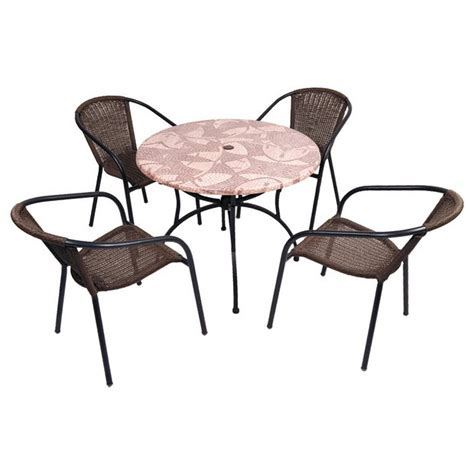 Buy Patio Furniture Sets Buy Europa Leisure Romano Patio Set At Argos Co Uk Your Shop For Garden Table And Chair
