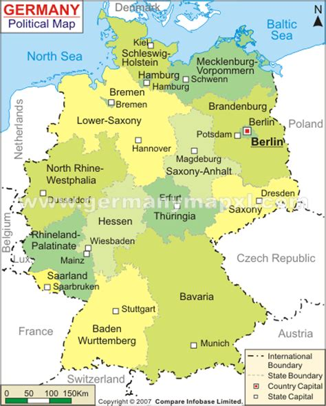 political map germany germany political map www pixshark images