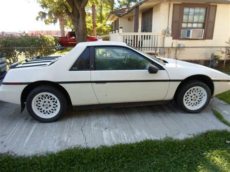 books on how cars work 1984 pontiac fiero parental controls purchase used 1984 fiero 3 8 series i supercharged automatic transmission in port neches texas