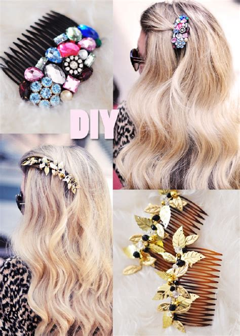 how to make hair jewelry top 10 diy hair accessories top inspired