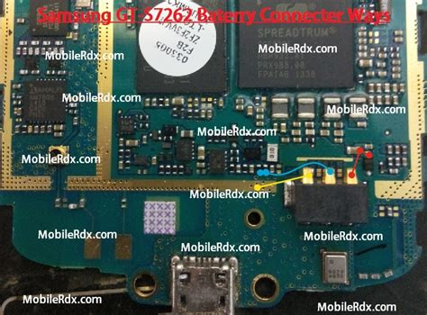 Ic Emmc Samsung Ace 3 Gt 7270 samsung gt s7262 battery connecter ways point jumper