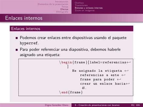 referenciar imagenes latex 5 beamer creaci 243 n de presentaciones con latex imprimible
