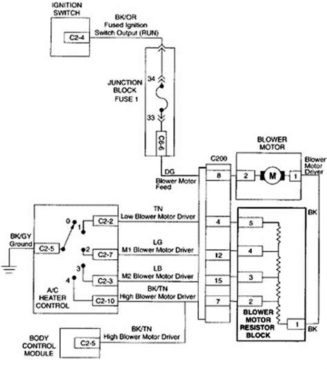 2007 grand prix blower motor wiring diagram 2007 grand