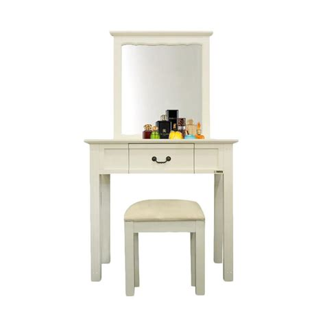 jual dove s furniture meja rias mr minimalis white