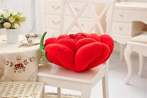 Bantal Sofa Dekorasi Gift Flower ebluejay 3d colorful flowers throw pillow plush sofa car office back cushion valentines gift