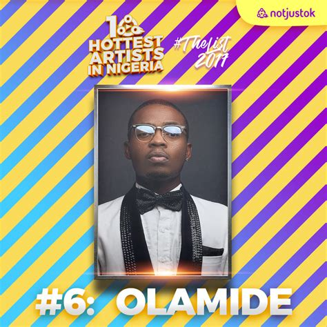 biography of nigerian artist olamide the 10 hottest artists in nigeria thelist2017 6