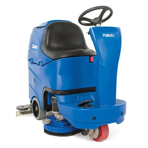 clarke 174 focus 174 ii microrider ride on automatic floor - 10 Gallon Floor Scrubber