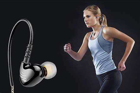 Knowledge Zenith Sport Runing Bass In Ear Earphones With Microphone Qk 1 qkz earphone dengan mikrofon qkz s6 black