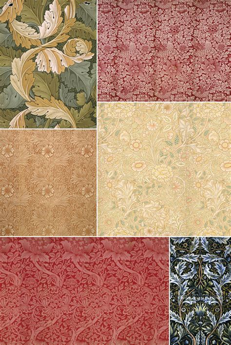 Surface Pattern Design History | history of surface design william morris pattern observer