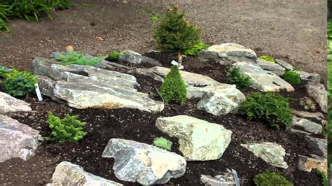 Garden Ideas Building Rock Garden Ideas Youtube How To Build Rock Garden