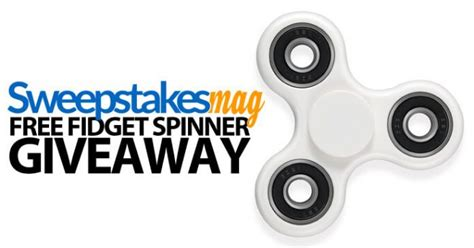 sweepstakeslovers daily sun maid amazon more - Free Fidget Spinner Giveaway