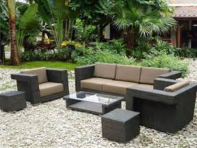 Design Ideas For Black Wicker Outdoor Furniture Concept Etikaprojects Do It Yourself Project