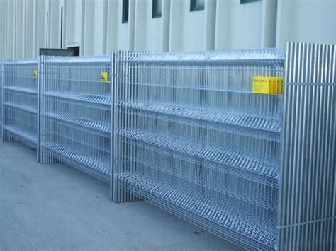 recinzione mobile recinzione mobile da cantiere standard ferro bulloni