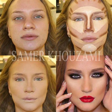 Makeup Base Makeover Antes E Depois Do Contorno Maquiagem Keepcalmdiy