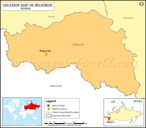 russia map belgorod where is belgorod location of belgorod in russia map