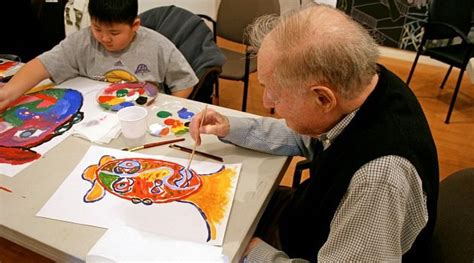 painting for elders pin by arttherapy alliance on creative aging