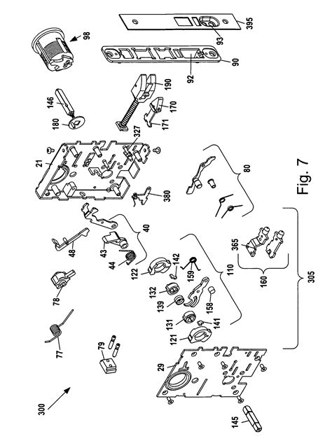 baldwin mortise lock diagram patent us8292336 mortise lock assembly patentsuche