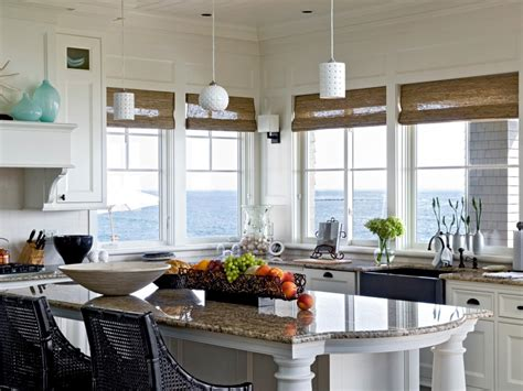beach kitchen design coastal kitchens hgtv
