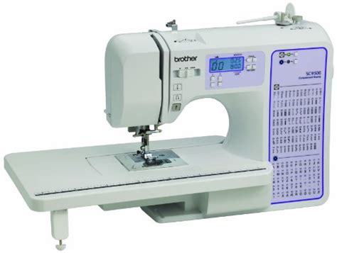 amazon brother cs6000i feature rich sewing machine brother sc9500 computerized sewing quilting machine