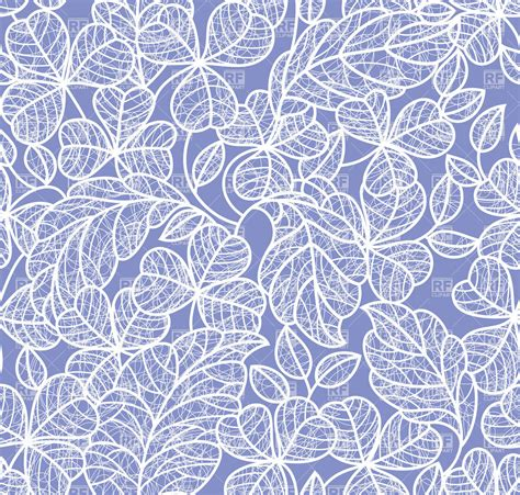 contour wallpaper abstract leaves leaf outline background seamless blue wallpaper 18793
