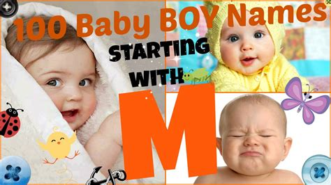 Baby Boy Names That Start With Letter M