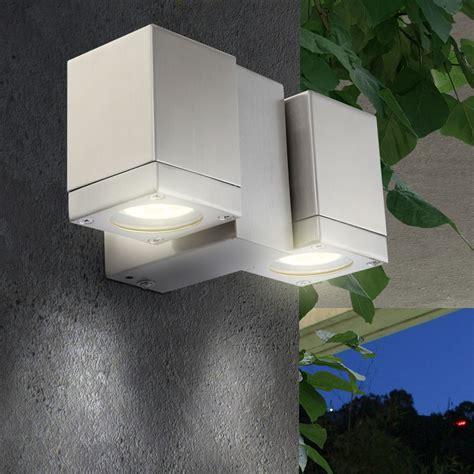 terrassenbeleuchtung wand led aussen leuchte 9 watt wand le terrassen beleuchtung