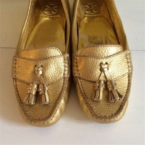 burch gold loafers 88 burch shoes burch gold loafers from