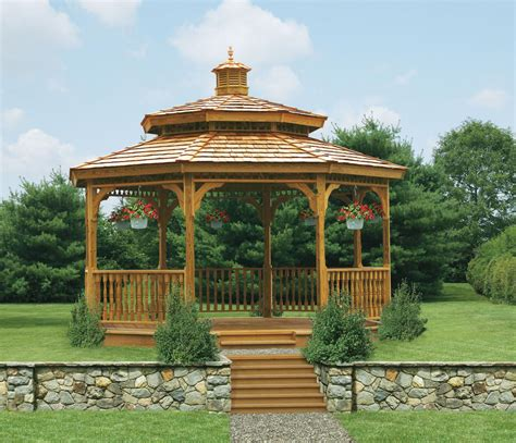 wood gazebo wood gazebos lykens valley gazebos and outdoor living