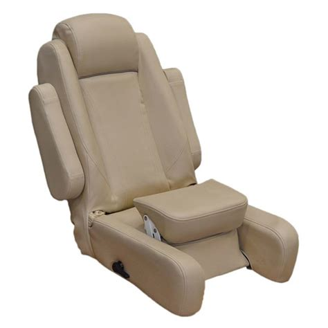 boat seats that recline misty harbor khaki reclining boat captain bolster seat