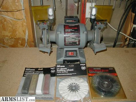 craftsman 6 bench grinder armslist for sale craftsman 1 3 hp 6 bench grinder
