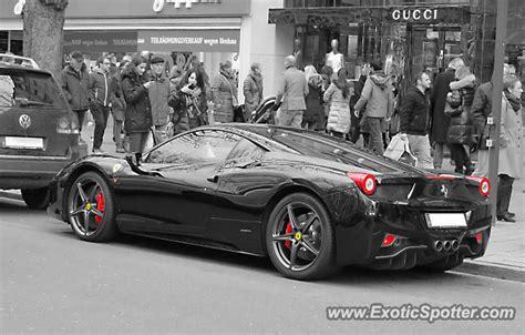 Ferrari D Sseldorf by Ferrari 458 Italia Spotted In D 252 Sseldorf Germany On 12 21