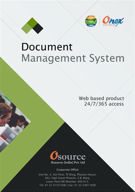 software brochure document management software brochure