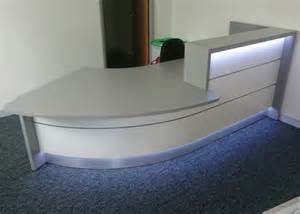 Grey Reception Desk Reception Furniture Projects Completed By Aerofoil Design
