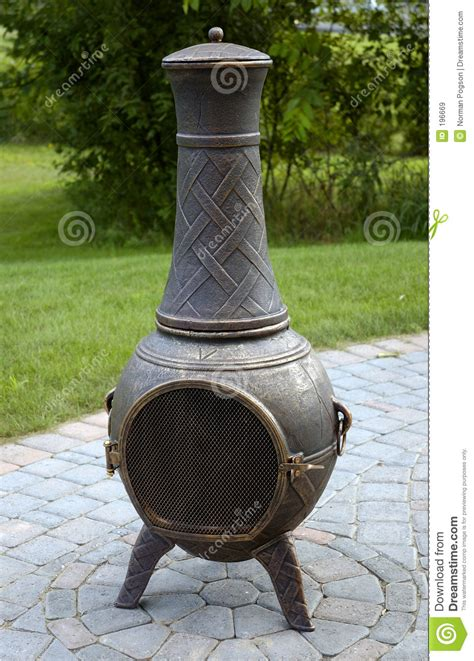 Pot Belly Chiminea Chiminea Pot Royalty Free Stock Images Image 196669