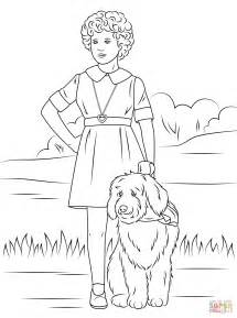 Orphan Coloring Pages orphan with one lung coloring page free printable
