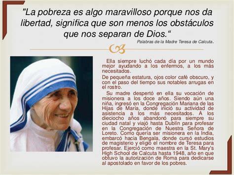 biografia de madre teresa de calcuta madre teresa premio biografia madre teresa de calcuta espa 241 ol