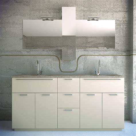 lavandino mobile bagno arredaclick un bagno per due mobile con doppio