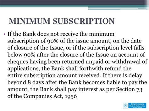 section 90 companies act bank of maharashtra initial public offer