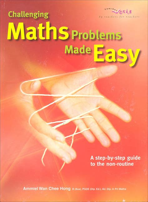 challenging math problem challenging maths problems made easy 062096 details