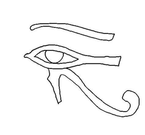 eye of horus coloring page horus coloring download horus coloring