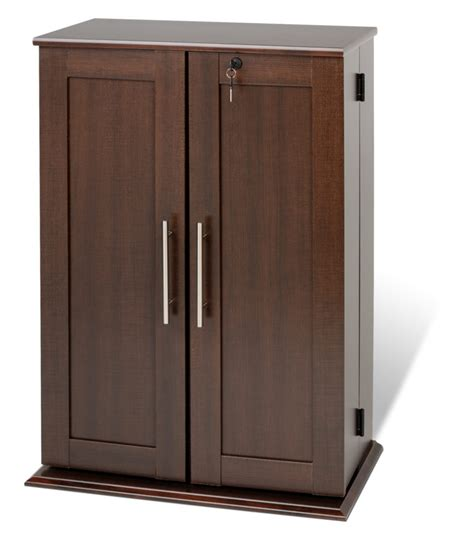 wood cd dvd cabinet furniture small wood dvd storage with glass doors and