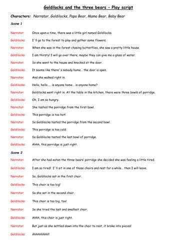 Fairy Tales as Play scripts by nigel.burgham   Teaching