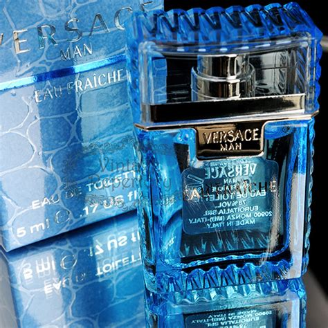man eau fraiche by versace edt mini perfume cologne for mens 017 oz versace man eau fraiche eau de toilette 5ml 0 17oz men