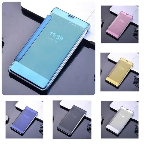 Flip Cover Xioami Redmi Note 3 flip mirror xiaomi redmi note 3 pro cover