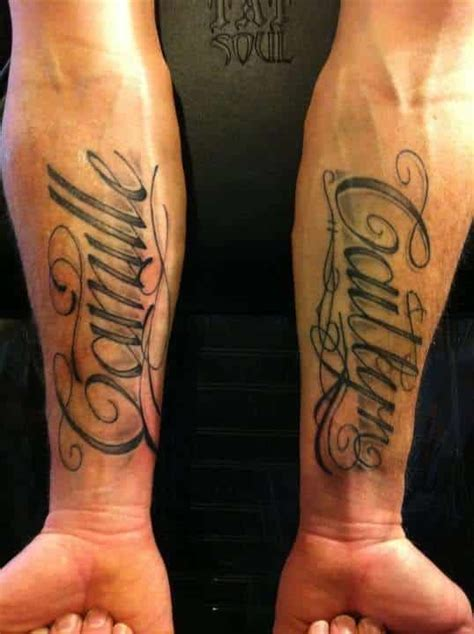 tattoo name for man name tattoos for men ideas and inspiration for guys