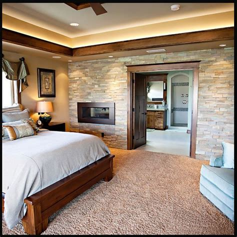 rock wall in bedroom 17 best ideas about faux stone walls on pinterest faux