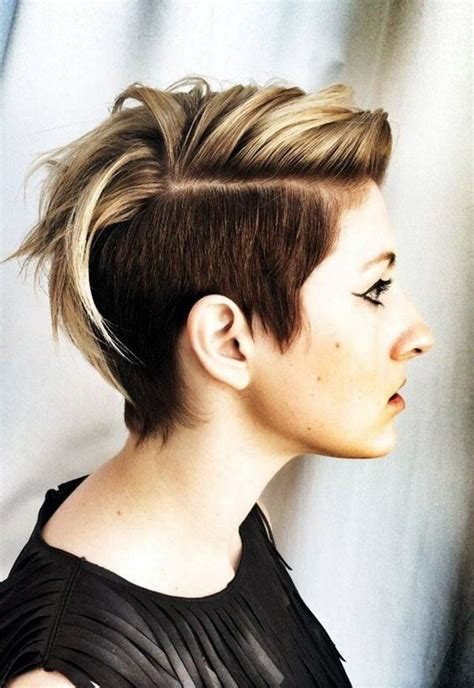 pixie mohawk 2014 45 voguish mohawk hairstyles for women for women dr